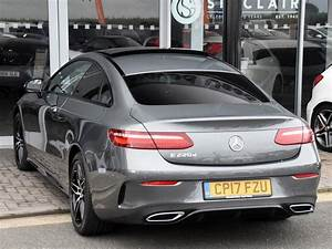 Mercedes 220 Coupe : used 2017 mercedes benz e class e 220 d amg line coupe for sale in pembrokeshire pistonheads ~ Gottalentnigeria.com Avis de Voitures