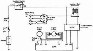 Wiring Diagrams   Toyota Camry Ignition System Wiring And