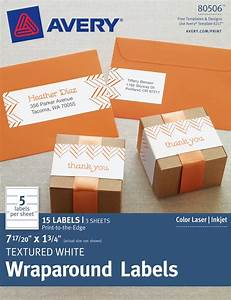 how to make holiday wraparound address labels With avery wraparound labels