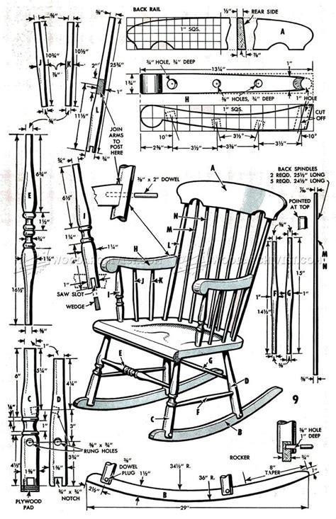 25 unique rocking chair plans ideas on