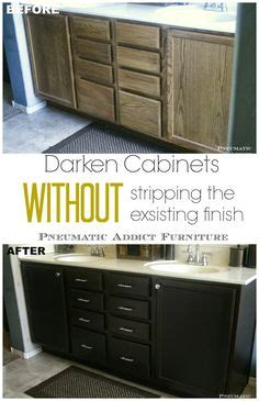 what is kitchen cabinet a side by side comparison of general finishes gel stain 7041