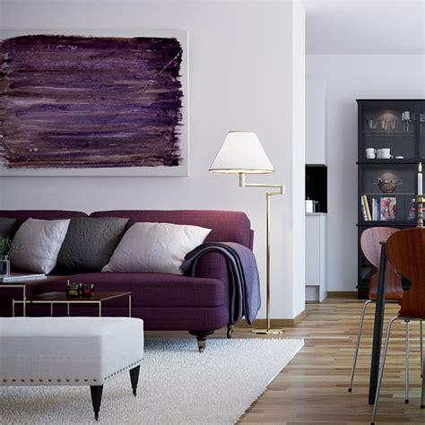 plum sofa decorating ideas purple sofa interior design ideas