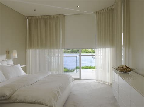 Curtains And Blinds by Combining Blinds And Sheer Curtains Can Be Both