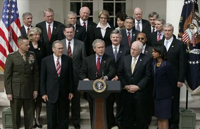 Bush Administration Cabinet by Test Consultants Of Pennsylvania