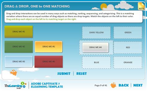 captivate templates the learning smith captivate 7 elearning template