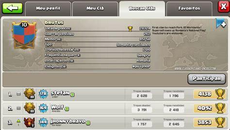 o primeiro cl 227 n 237 vel 10 de clash of clans clash of clans dicas