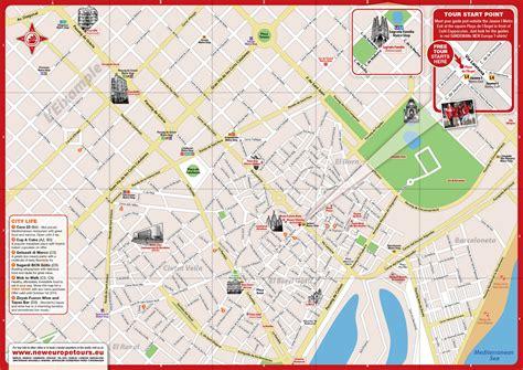 Carte De Pdf by Plan Gratuit De Barcelone Pdf 224 T 233 L 233 Charger