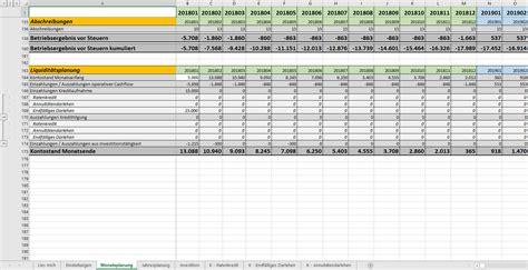 finanzplan excel kostenlos downloaden
