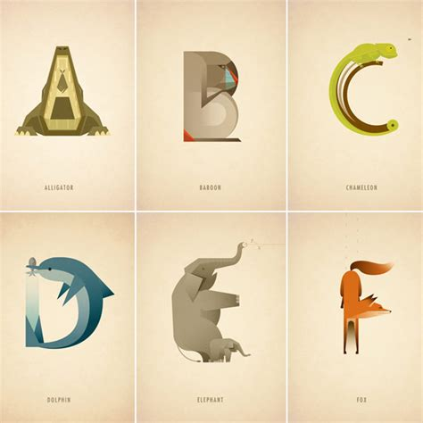 illustrated animal alphabet  marcus reed