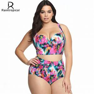 Aliexpress.com : Buy 2017 New Plus Size Swimwear Large ...
