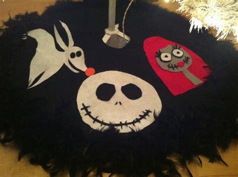 nightmare before christmas tree skirt decorating ideas