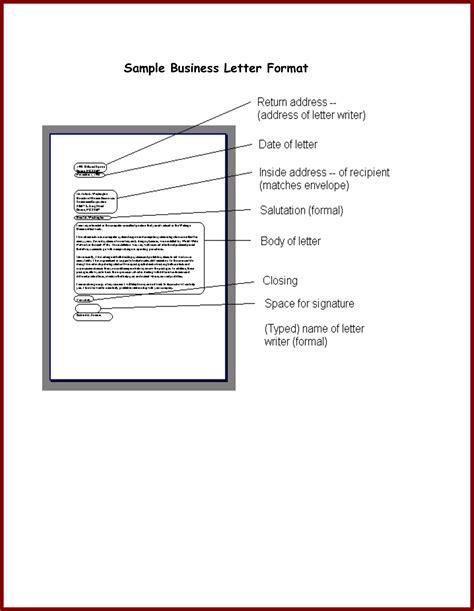 formal letter format sample world  reference