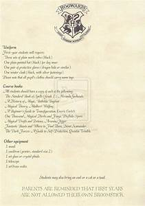 hogwarts acceptance letter english 2 2 option 2 by With official harry potter acceptance letter