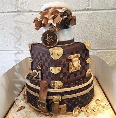 louis vuitton birthday cake st bday   cake