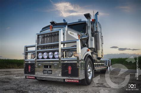 kenworth  director series photoshoot evocative
