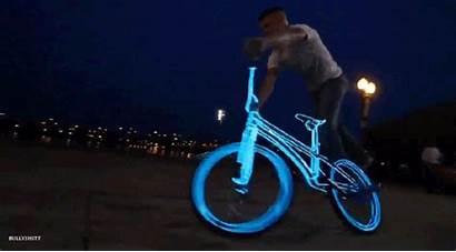 Giphy Bike Bicycle Gifs Lights Glow