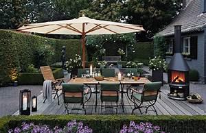 Terrasse Dekorieren Modern : gartenideen f r die warme zeit drau en sch ner wohnen ~ Fotosdekora.club Haus und Dekorationen