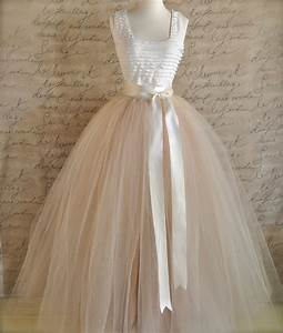 full length champagne tulle skirt champagne tulle lined in With wedding dress tulle skirt