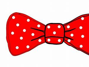 Bow Tie Red Polka Dot Clip Art - Vector Clip Art Online ...