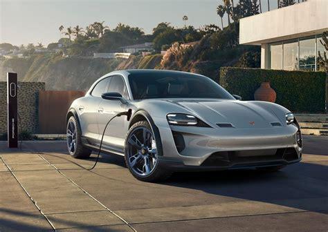 Mission E by Concept Porsche Mission E Cross Turismo