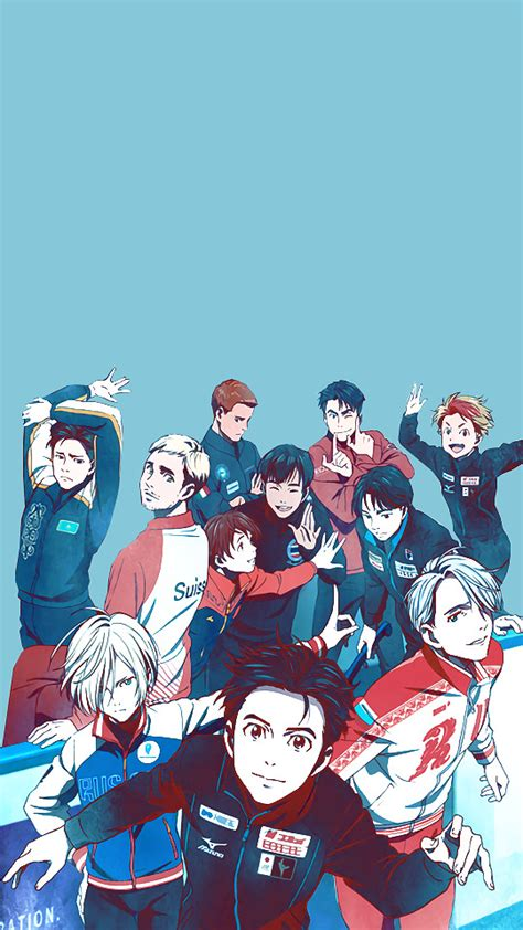 wallpaper collection yuri  ice wallpapers mobile