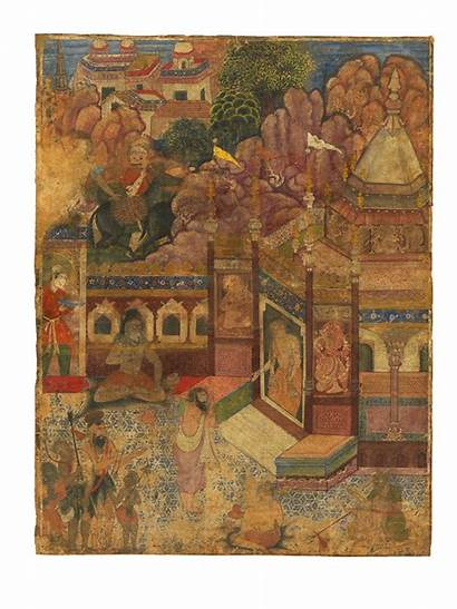 Supplicant Hindu Temple Indian Hodgkin Howard