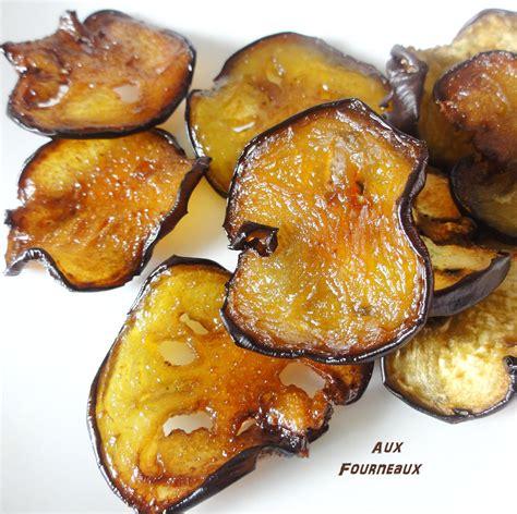cuisiner aubergine four chips d 39 aubergine à la fleur de sel aux fourneaux