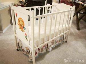 Trash to Treasure: Revamped Baby Crib - How to Nest for Less™