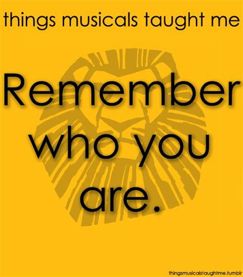 Images Of Lion King Quotes Remember Who You Are Summer