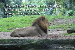 Quotes About Courage and Lions