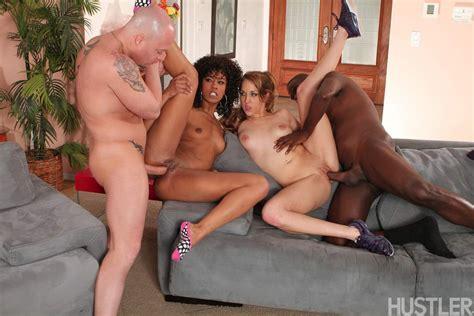 Sexy Misty Stone And Kiera King Enjoy A Foursome 1 Of 2