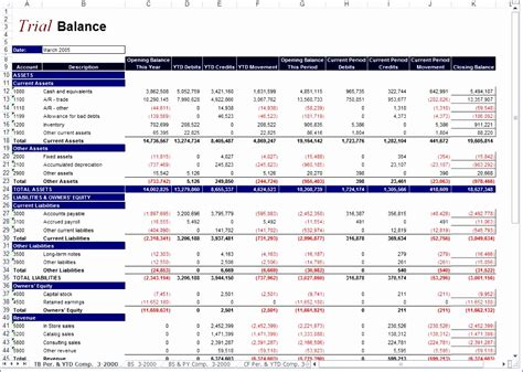 monthly financial report excel template exceltemplates