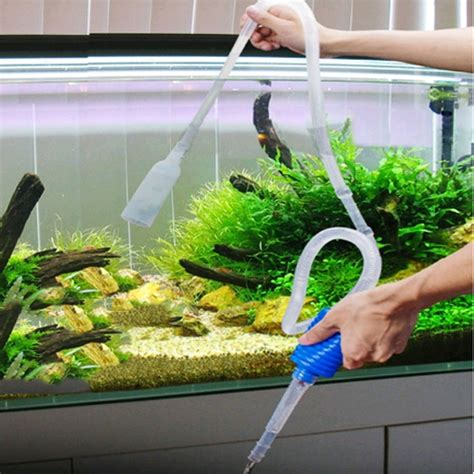 how to clean a fish tank 2017 aquarium clean vacuum water change changer gravel cleaner fish tank siphon pump in cleaning