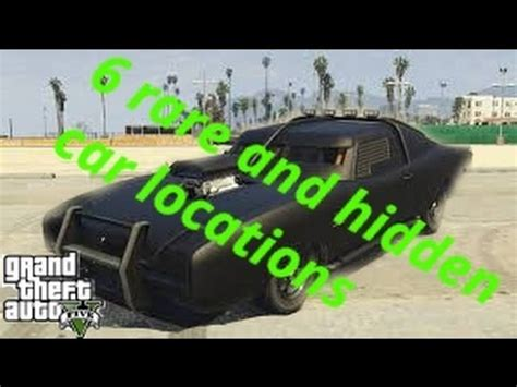 rare  hidden cars  gta  story mode youtube