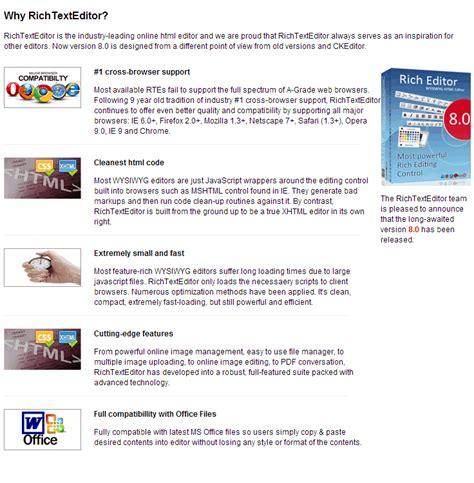 asp net html editor
