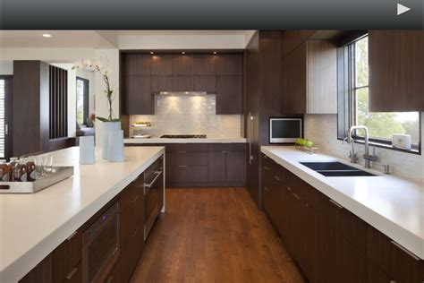 white quartz countertop with dark cabinets modern the
