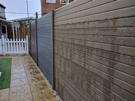 composite fence panels composite fencing panels home ideas