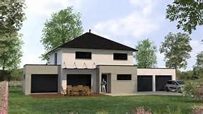 HD wallpapers maison contemporaine toit zinc www ...