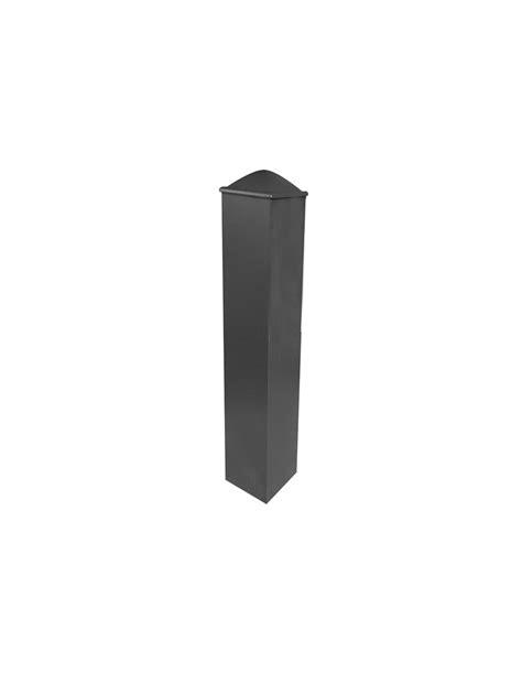 poteau pilier de portail aluminium 118x118