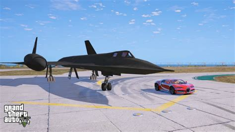 Gta 5-bugatti Chiron Vs Euro Fighter Jet