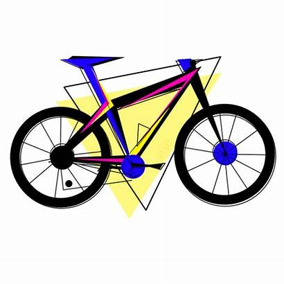 Bike Clipart Abstract Gifs Riding Bicycle Ride