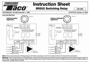 Taco Relay Wiring Thermostat Wi Fi