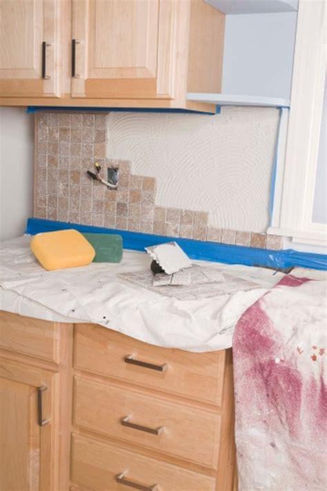 Remove  Tile Backsplash Cleanly Hunker