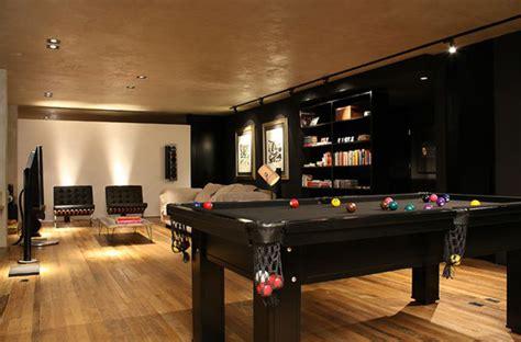 pool table in living room modern bachelor pad living room with pool table