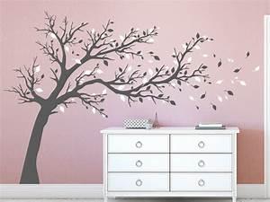 Baum An Wand Malen : wandtattoo gro er baum zweifarbig wandtattoo de ~ Frokenaadalensverden.com Haus und Dekorationen