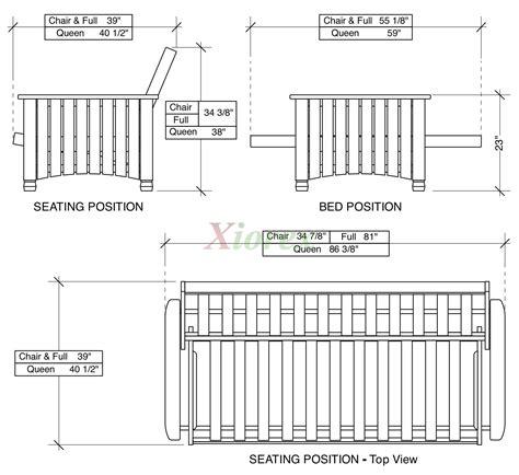 size sofa bed measurements size futon dimensions bm furnititure