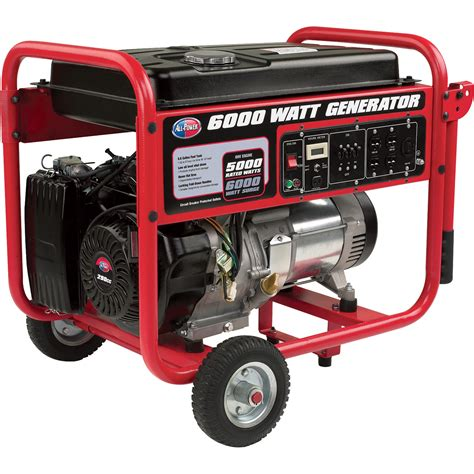 Generator Tool by Product All Power Generator 6000 Watts Model Apgg 6000