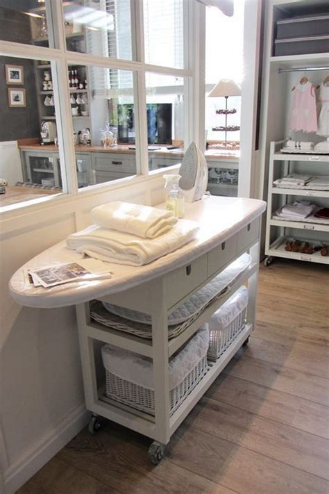 laundry room table with storage 50 laundry storage and organization ideas 2017