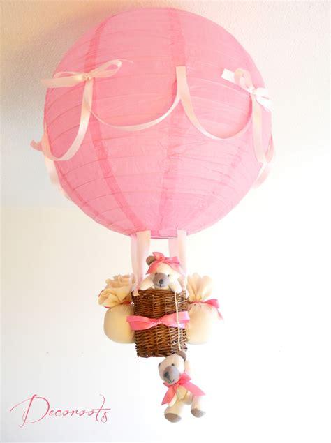 abat jour bebe fille le montgolfi 232 re oursonne fille cr 233 ation artisanale