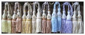 Embrasse Rideau Design : d coratif double embrasse pompon fleurs rideau embrasses rideau accessoires design buy ~ Teatrodelosmanantiales.com Idées de Décoration